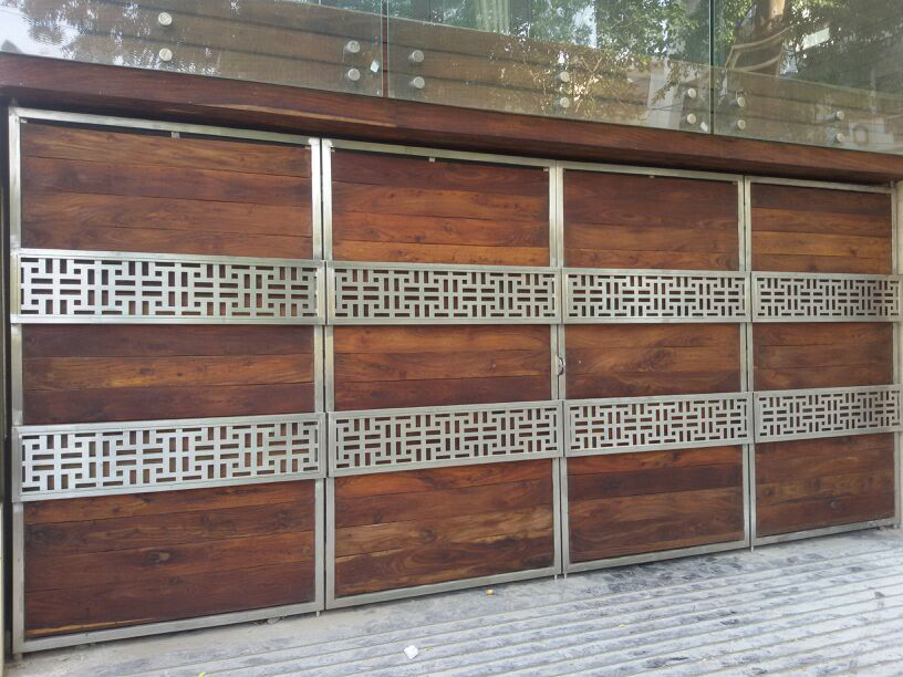 Stainless steel railing | ss gates installed in Delhi